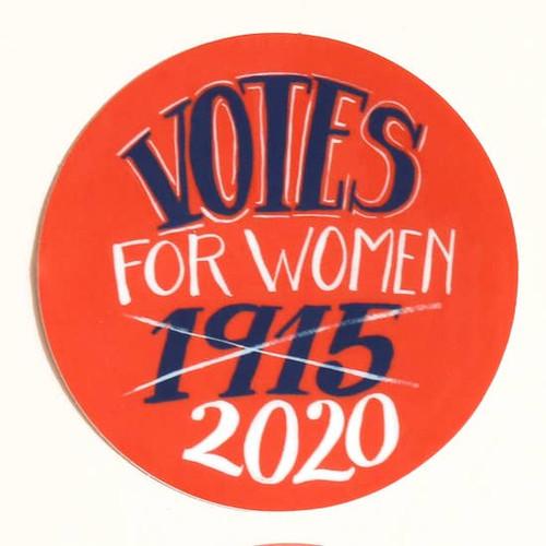 Votes for Women Sticker 1915 2020