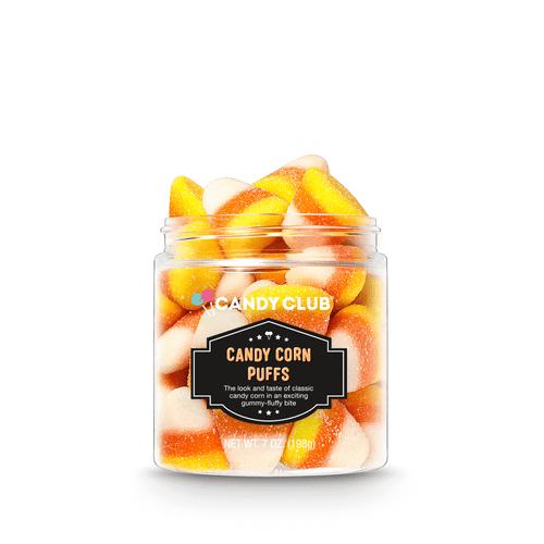 Candy Corn Puffs Gummies