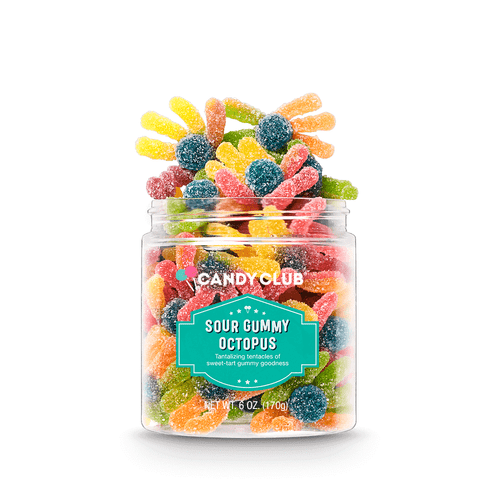 Sour Gummy Octopus Small 6oz
