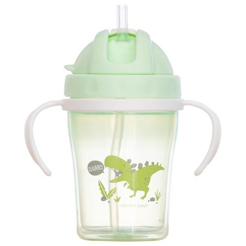 Straw Cups Dino
