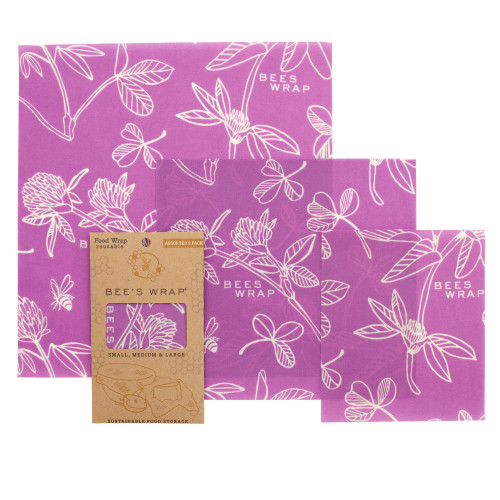 Clover Print Set of 3 Assorted S M L