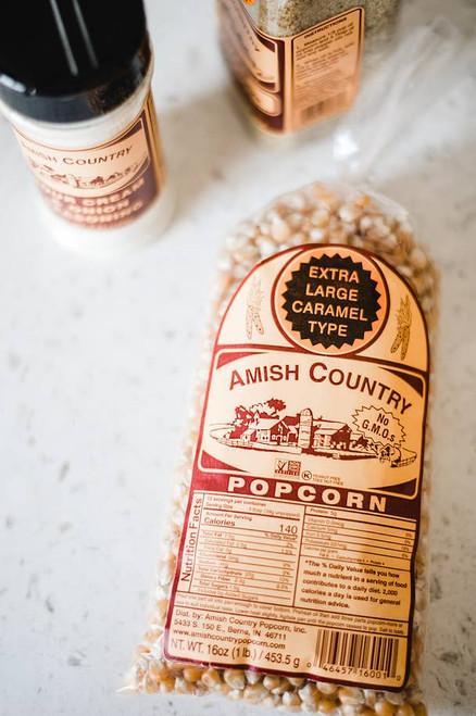 1lb Extra Large Caramel Popcorn