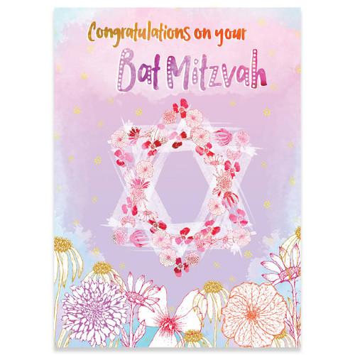 Flowery Star Bat Mitzvah