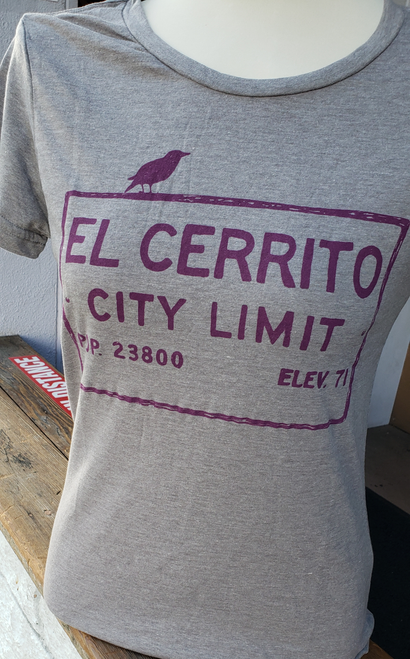 Women's Heather Gray El Cerrito T-Shirt