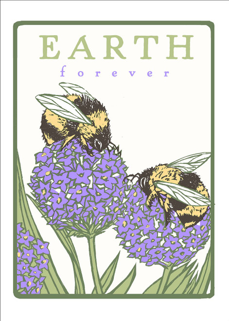 Bumblebees: Earth Forever Card