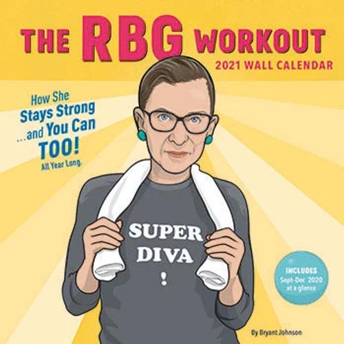 RBG Workout Wall Calendar 2021
