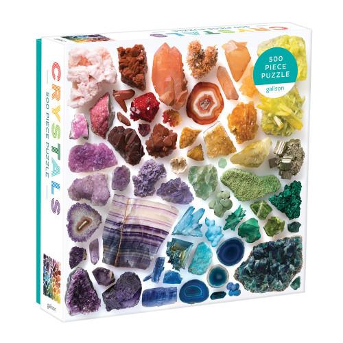 Rainbow Crystals 500 Piece Puzzle