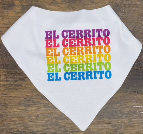 El Cerrito Baby Bib