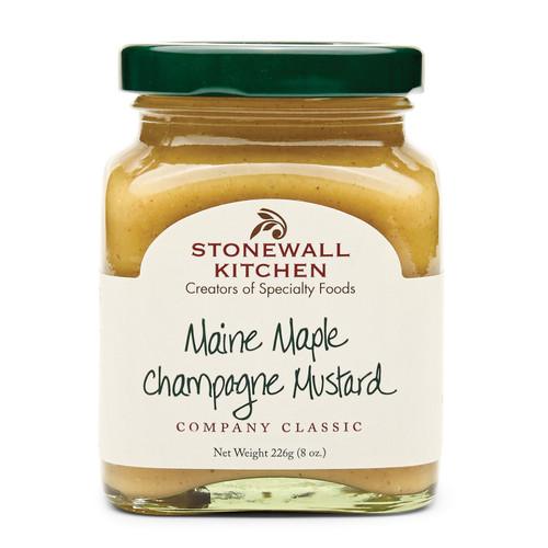 Maine Maple Champagne Mustard 8oz