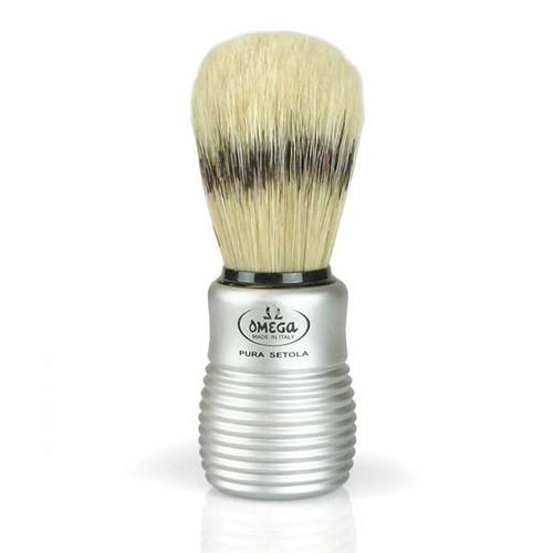 Mens's Shave Brush Aluminum Handle