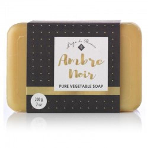 Ambre Noir triple milled French bar soap