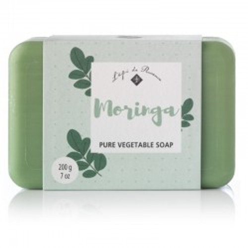 Moringa scented triple milled French bar soap