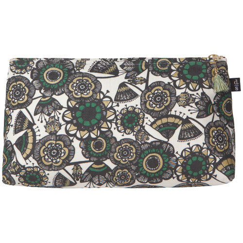 Large Linen Cosmetic Bag - Shadowvale