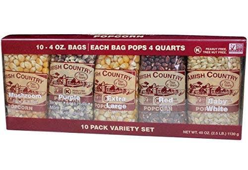 4oz. Variety Pack Popcorn