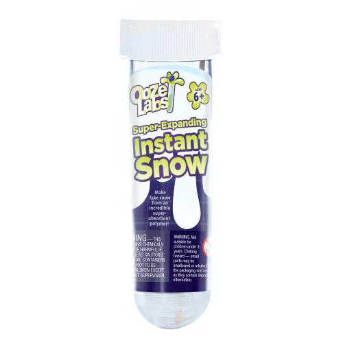 Super-Expanding Instant Snow