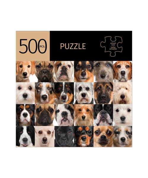 Dogs 500 piece Puzzle