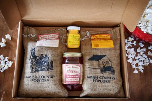 Burlap Gift Box