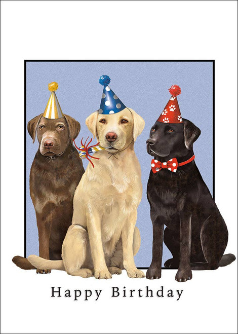3 Labs - Birthday Card