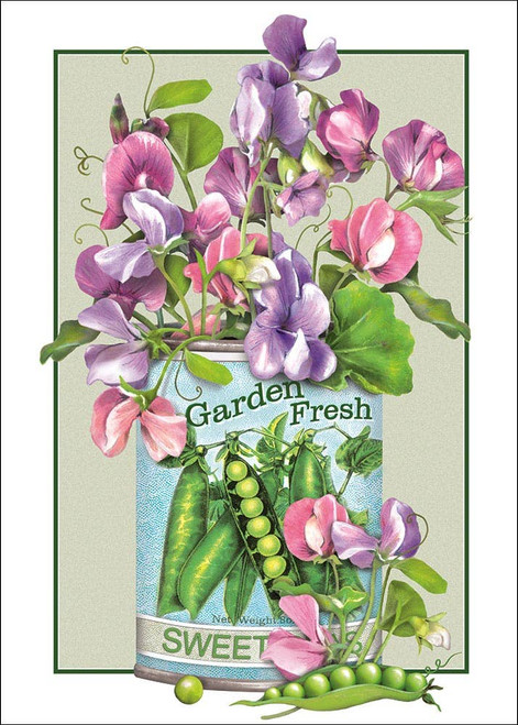 Sweet Pea - Birthday Card