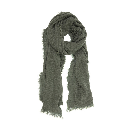 Heathered Eyelash Fringe Scarf
