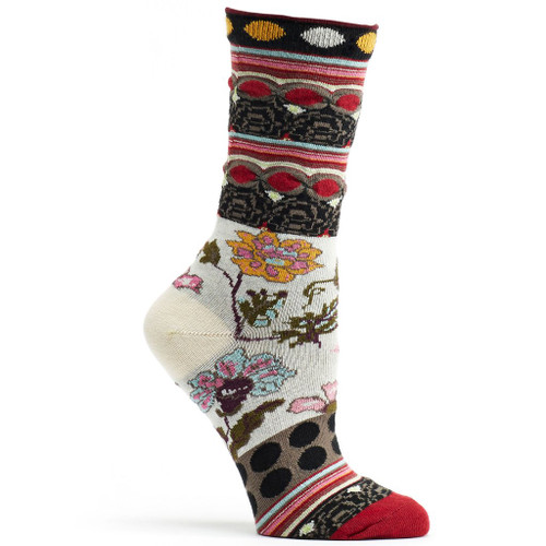 Fille Black Ozone Sock