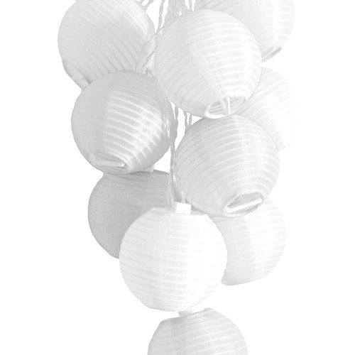GLOW Nylon String Lights - White