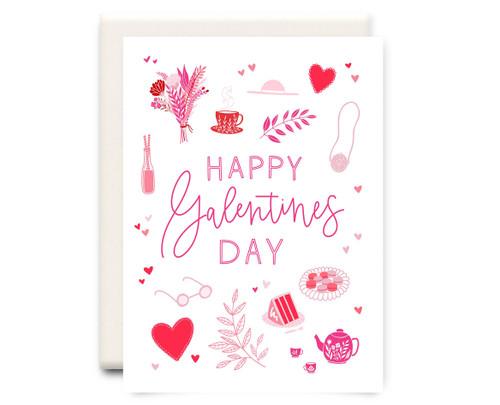 Galentines - Valentine Card