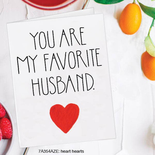 You Are My Favorite Husband - Love Card