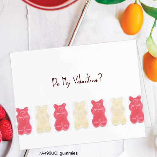 Be My Valentine Gummies - Valentine Card