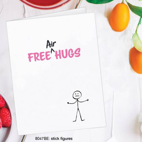 Free Air Hugs - Card
