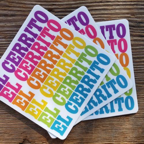 El Cerrito Sticker