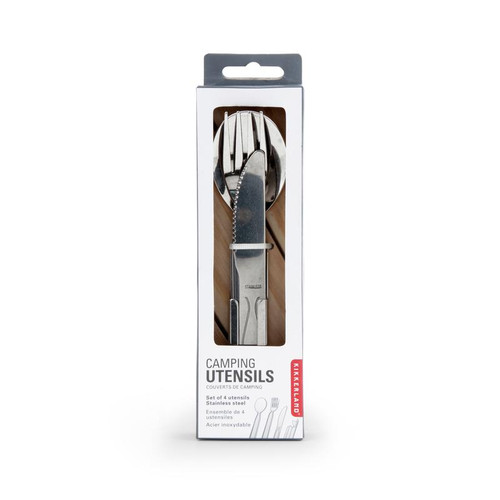 Compact cutlery set. Great for on-the-go.