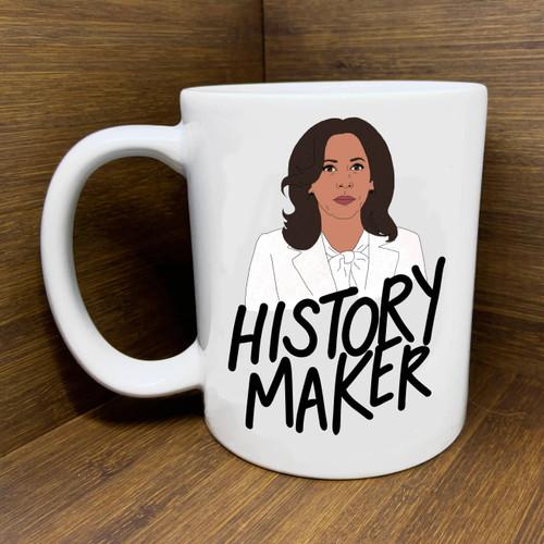 "Kamala ""History Maker"" Mug"