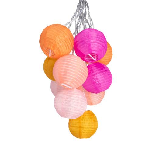 GLOW Nylon String Lights - Peach Bellini