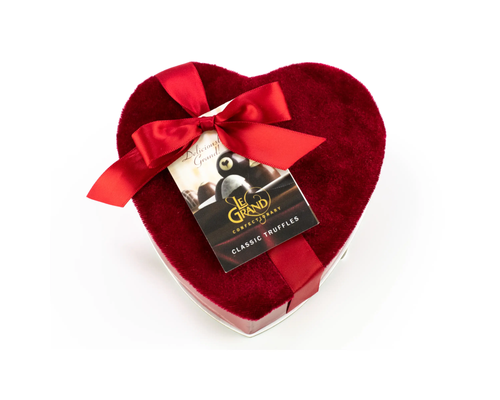 Valentine 5-Piece Red Heart Box