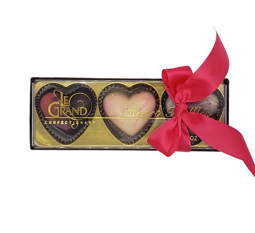 Valentine 3-Piece Hearts
