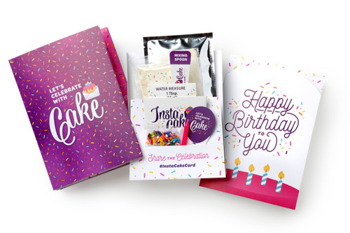 Happy Birthday Card - Purple