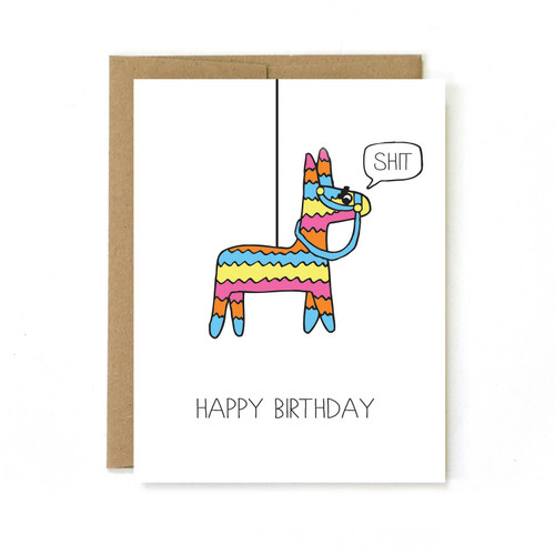 Birthday Card - Pinata