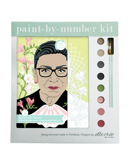 Ruth with Freesia Paint-by-Number Kit