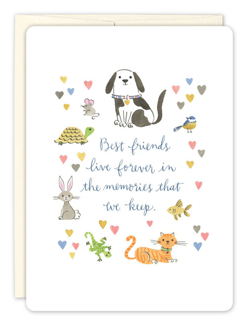 Animals - Sympathy Card