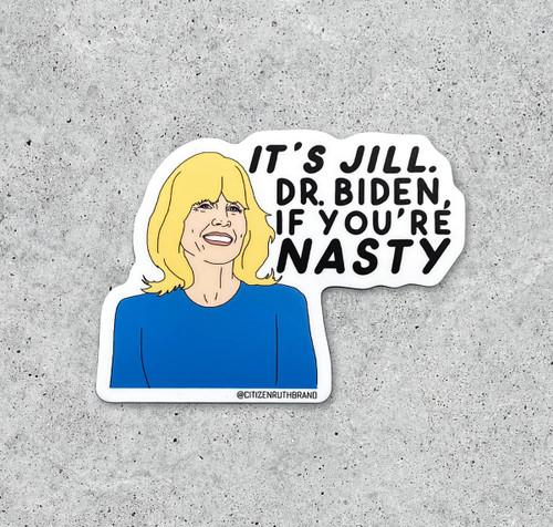 Dr. Jill Biden Sticker