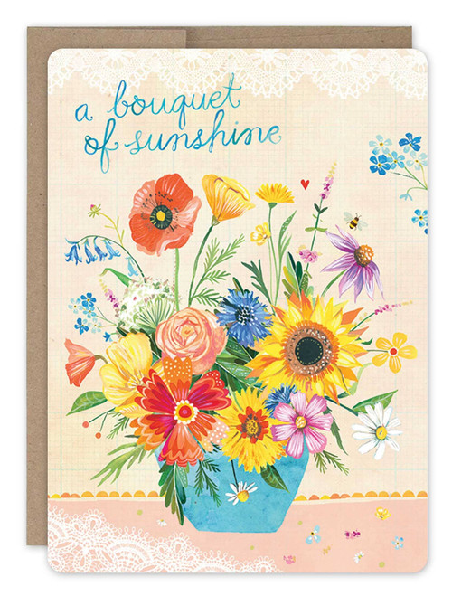 Biggest Bouquet - Get Well Soon Card