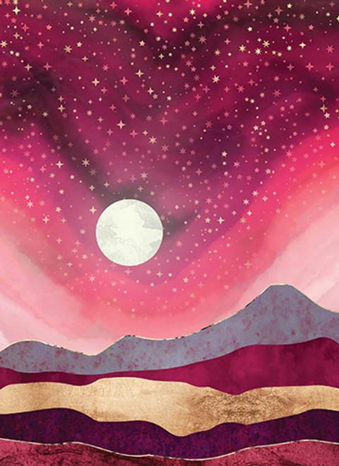 Pink Sunset - Anniversary Card