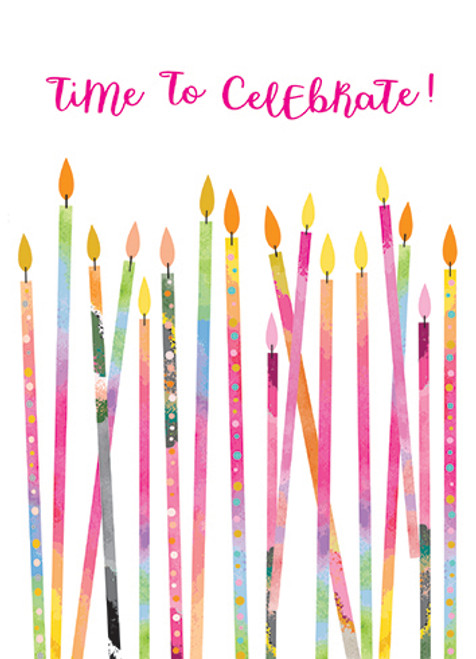 Little Candles - Birthday Card (12918)