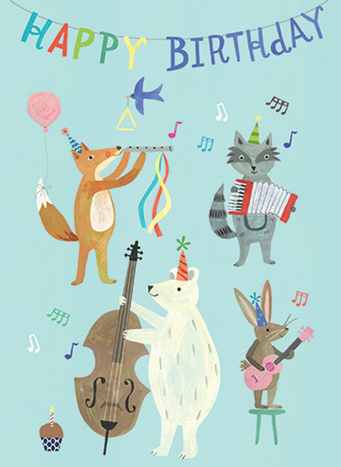 Birthday Band - Birthday Card