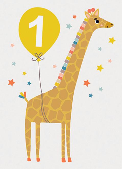 One - Birthday Card