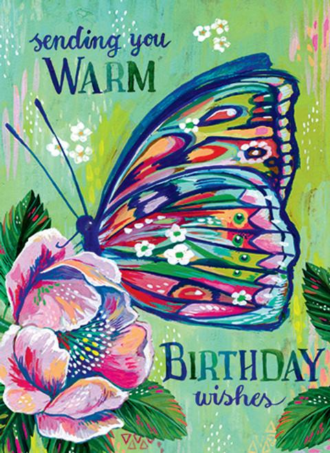 Butterfly - Birthday Card
