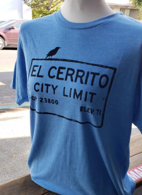 Heather Blue Unisex El Cerrito T-Shirt