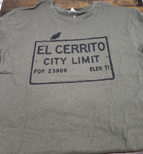 Army Green El Cerrito T-Shirt