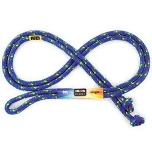 Confetti Jump Rope 8 ft Blue